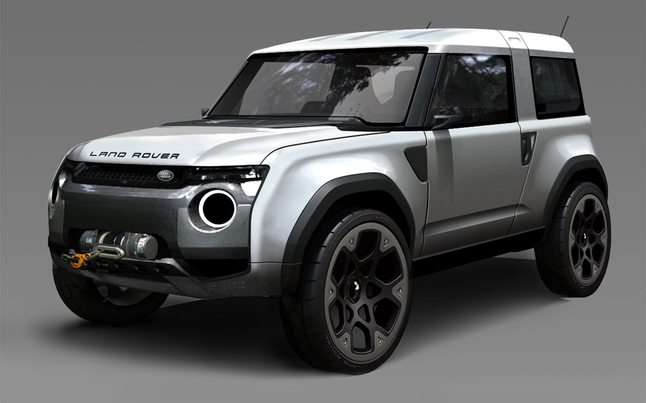 Land Rover Dc100 Sport Looking Blog